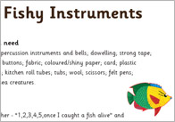 Fishy instruments game