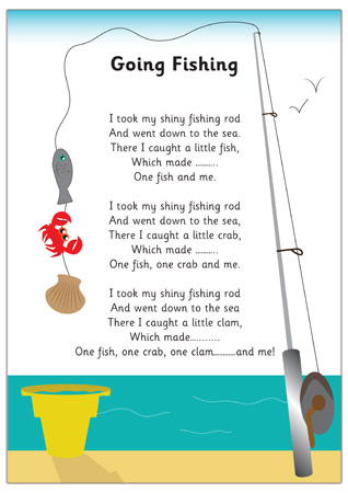 Going fishing rhyme eyfs free early years primary for Funny fishing songs