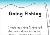 Going Fishing Rhyme