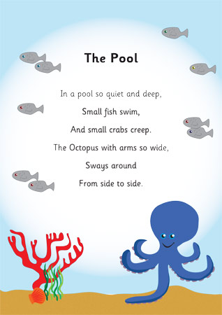 The Pool Underwater Rhyme Free Early Years amp Primary