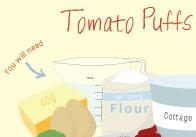 Tomato Puffs Recipe