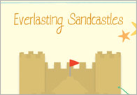 Everlasting sandcastles craft activity