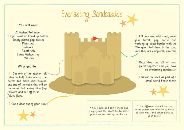 Everlasting Sandcastles Craft Activity