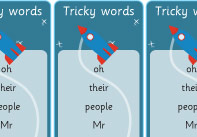 Phase 5 Tricky Words Bookmarks