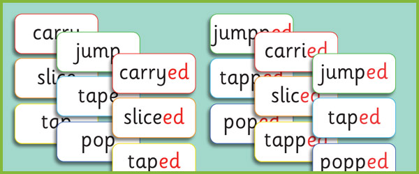 Irregular Past Tense Verbs Ks1 Past Tense ed Words Ks1 Phase