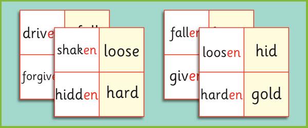 Phase 6 'en' Suffix Loop Cards