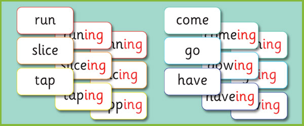 Phase 6 Ing Suffix Matching Cards Free Early Years