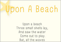 Upon a Beach poem