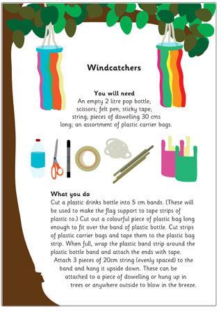 Wind Catcher Craft Activity