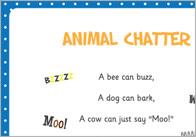Animal Chatter Poem
