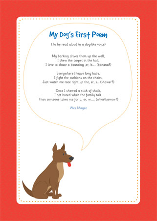 my dog s first poem eyfs and ks1 free early years