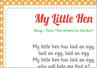 My little hen song
