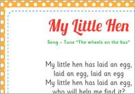 My Little Hen Song