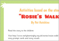 Rosie's Walk Activities