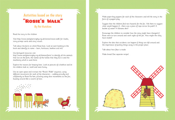 Rosie S Walk Activities Eyfs And Ks1 Free Early Years