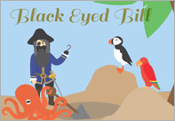 Black Eyed Bill Illustrated Story
