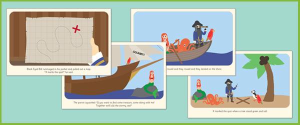 Black Eyed Bill Illustrated Story