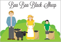 Baa baa black sheep1 Baa Baa Black Sheep Nursery Rhyme