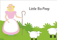 Little Bo Peep Nursery Rhyme