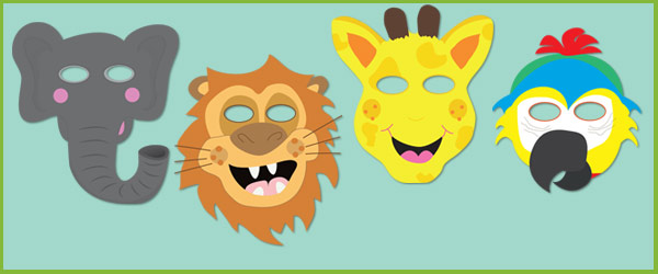 Zoo Animal Masks Eyfs And Ks1 Free Early Years