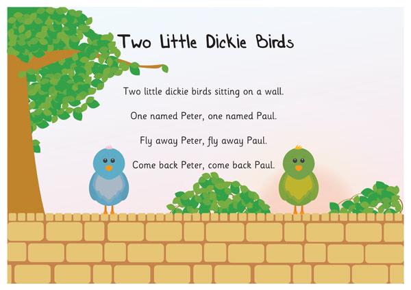 Resultado de imagen de two little dicky birds