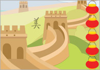 Ancient China Display Banners