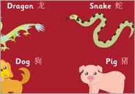 China Zodiac Poster