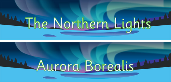 Northern Lights / Aurora Borealis Poster