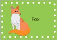 British wildlife labels British Wildlife Editable Labels