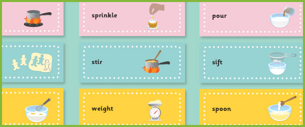 Cooking Flashcards