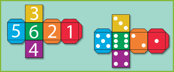 Dice Templates | Free Early Years & Primary Teaching Resources ...