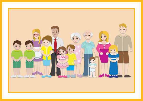Family Poster Free Early Years Amp Primary Teaching