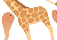 Split-pin-safari-animals
