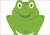 frogs number rhyme 5 Little Speckled Frogs – Visual Aids