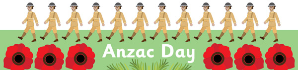 Anzac Day Display Banner