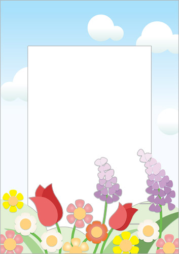 Mother's Day Page Border / Notepaper