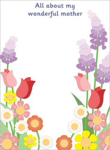 My Wonderful Mother Page Border | Free Early Years ...
