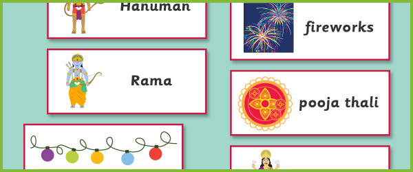 Diwali Topic Cards Labels Free Early Years Amp Primary