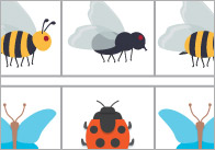 Complete The Pattern Worksheets – Minibeasts