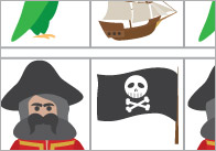 Complete The Pattern Worksheets – Pirates