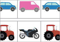 Complete The Pattern Worksheets – Vehicles