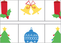Complete The Pattern Worksheets – Christmas