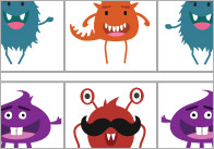 Monsters pattern1