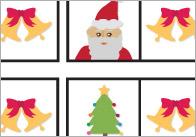 Christmas Themed Dominoes