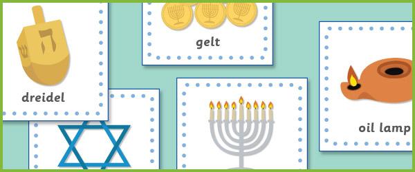 Hanukkah 15cm Cards