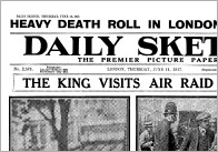 World War I Historic Newspaper Reports