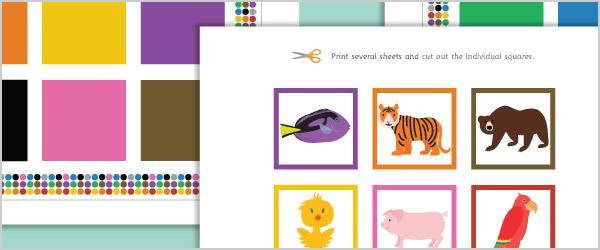 Animal Colour Matching Game