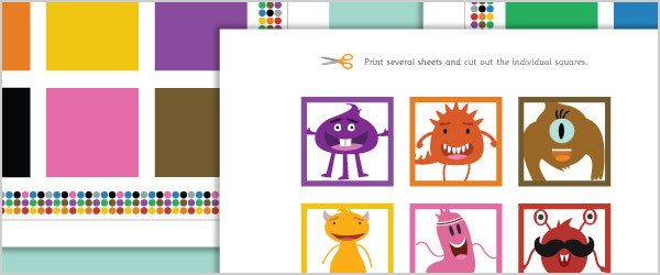 Monster Colour Matching Game