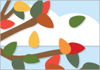 Autumn Leaves Counting Board Game