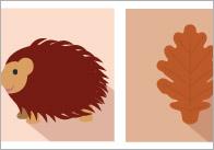 Autumn Themed A4 Notepaper